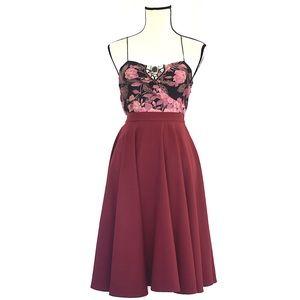 Plently Sleeveless Silk Tank Pink Floral Sz 10